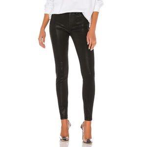 Hudson Barbara high waist super skinny black Sz 23